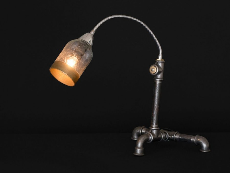 Industrial Steampunk Desk Lamp