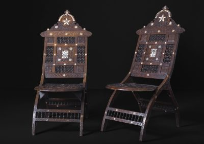 19th Century Arabesque Chairs