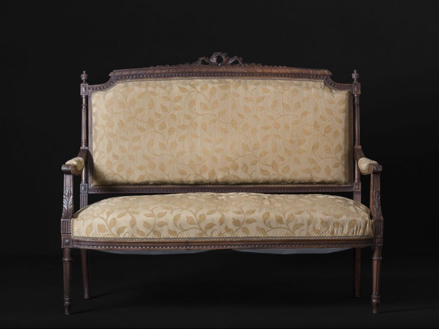 19th Century French Carved Sofa