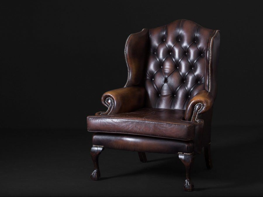 Chesterfield Winged Chair C. 1890