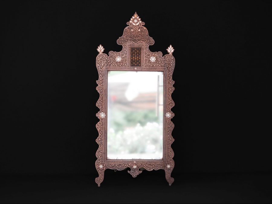 Arabesque Mirror 19th Century